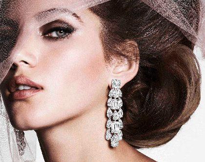 Stylish Diamond Earrings 2019