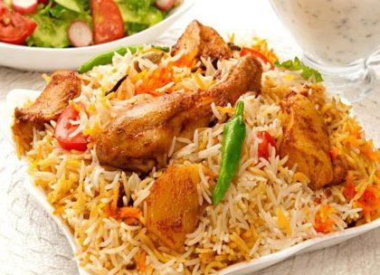 Delhi Chicken Biryani Recipe
