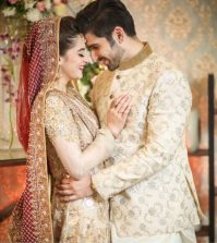 Pakistani Bride and Groom Dress Combination 2020