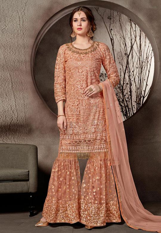 Modern Sharara & Gharara Suit