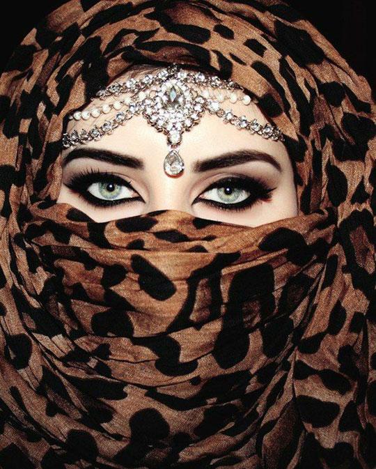 Arabic Hijab Eye Makeup