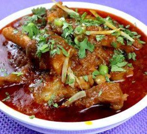 Hyderabadi Mutton Paya Recipe
