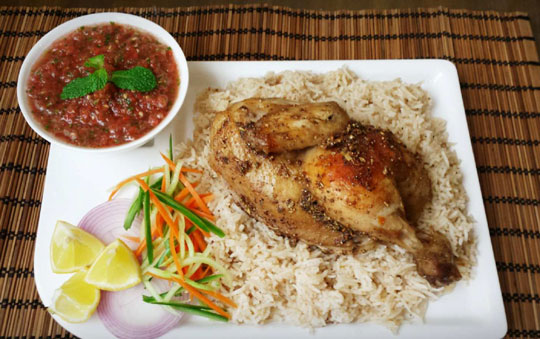 Arabian Yemeni Style Chicken Mandi Recipe