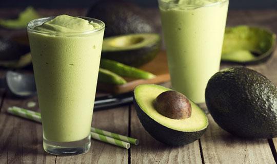 Milk and Avocado Smoothie Recipe