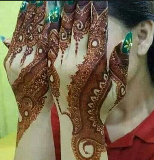 Latest Eid Mehndi Designs Ideas 2021