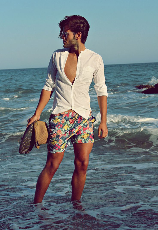 Cool Summer Beach Outfits For Men 2021