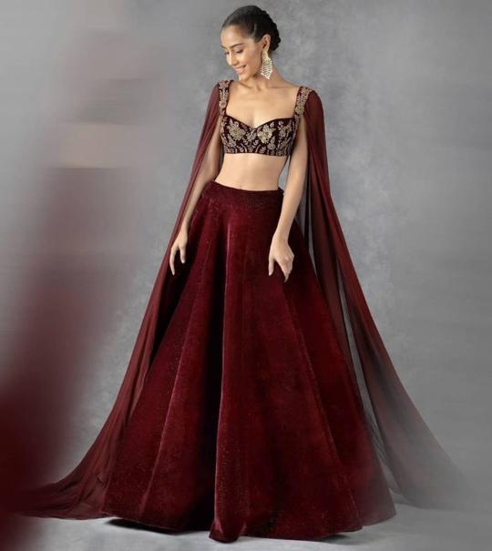 Party Wear Lehenga Choli Designs 2021